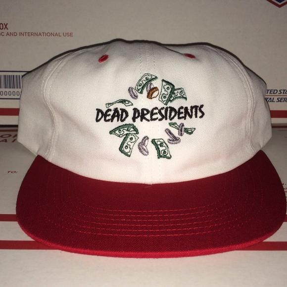 bacd1d77fdc Supreme Dead Presidents MONEY box Logo Snapback Ha